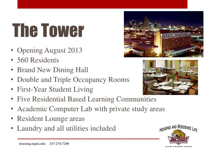Opening August 2013