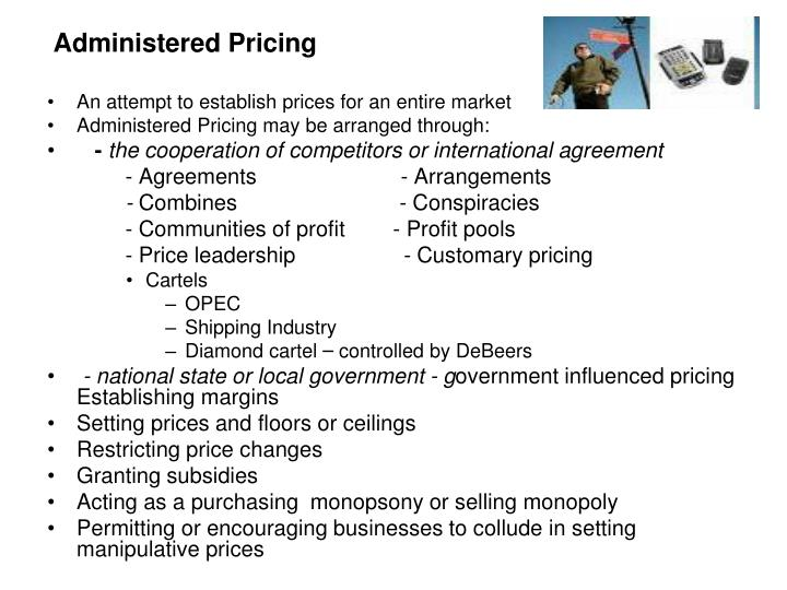 Administered Pricing