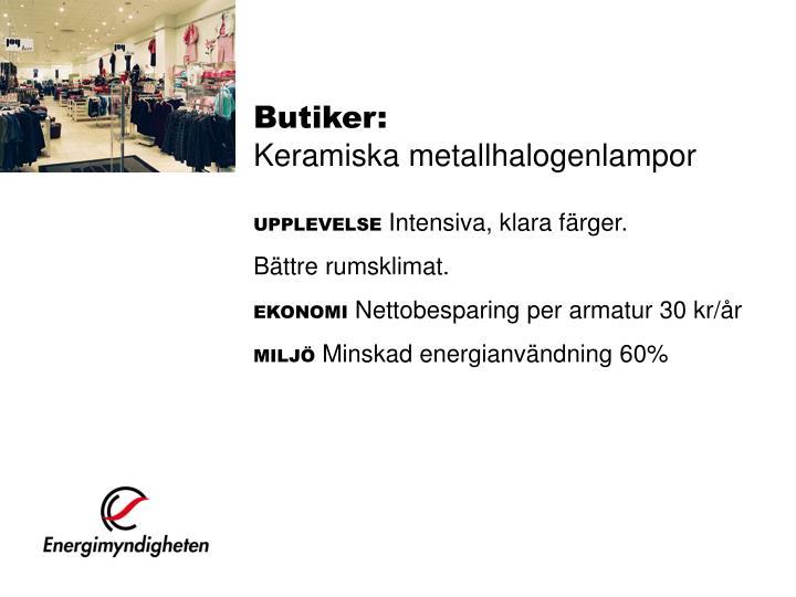 Butiker: