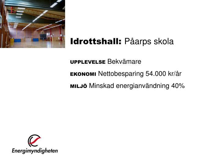 Idrottshall: