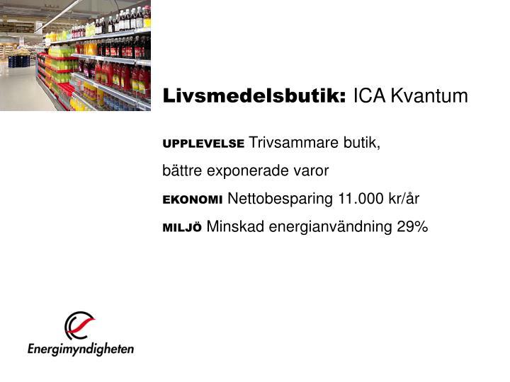 Livsmedelsbutik:
