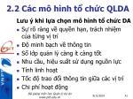 2 2 c c m h nh t ch c qlda7