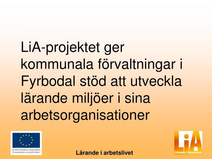 LiA-projektet ger kommunala förvaltningar i Fyrbodal stöd att utveckla lärande miljöer i sina arbetsorganisationer