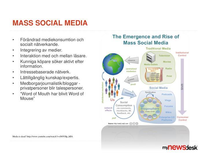 Mass social media