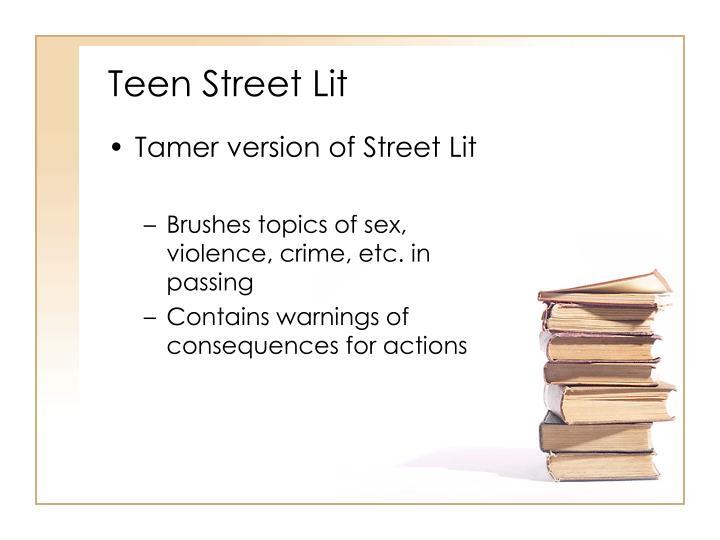 Teen Street Lit