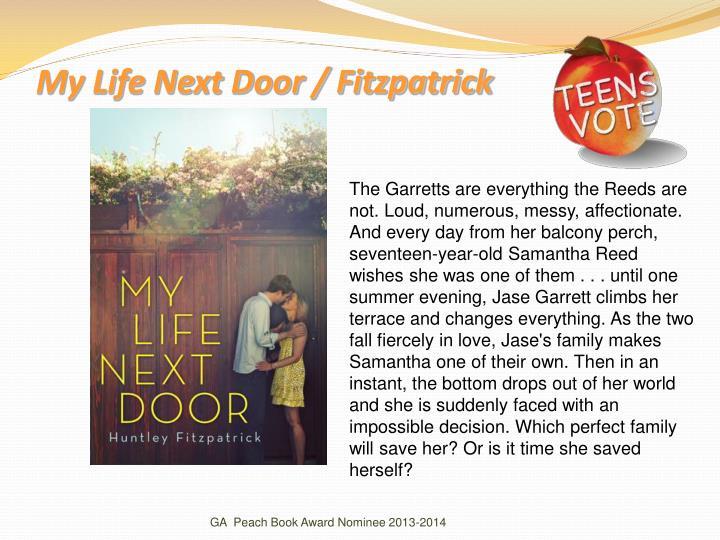 My Life Next Door / Fitzpatrick