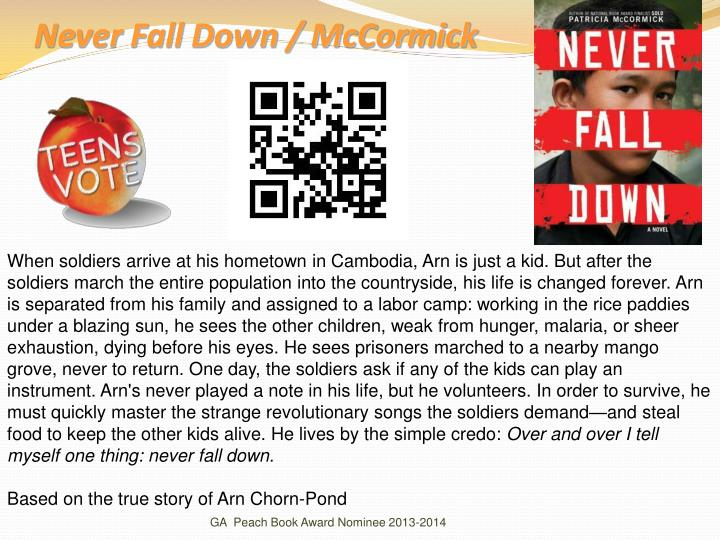 Never Fall Down / McCormick