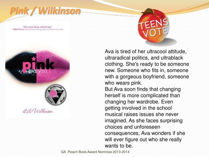 Pink / Wilkinson