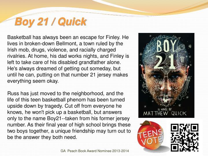 Boy 21 / Quick