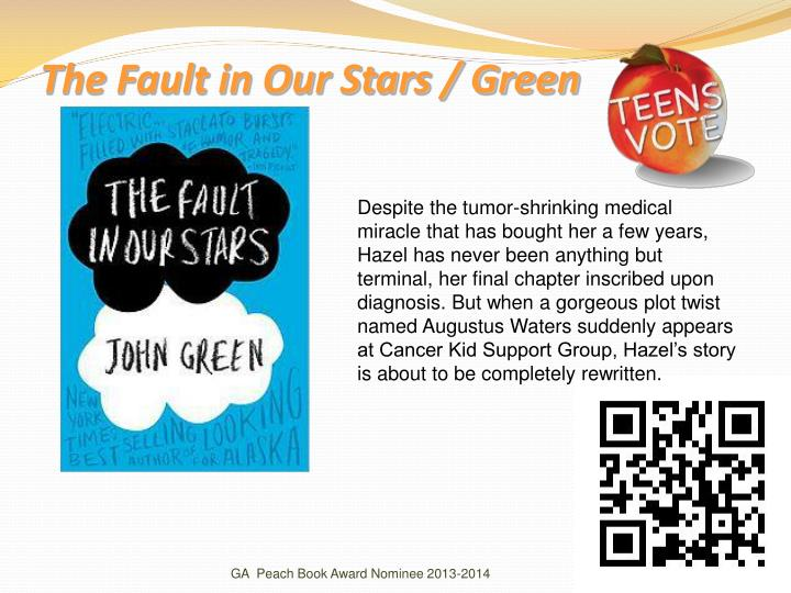 The Fault in Our Stars / Green