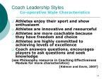 coach leadership styles5