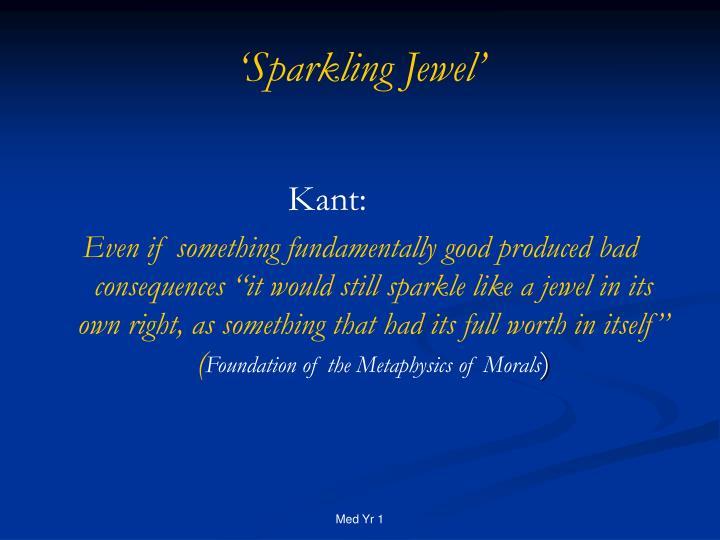 'Sparkling Jewel'