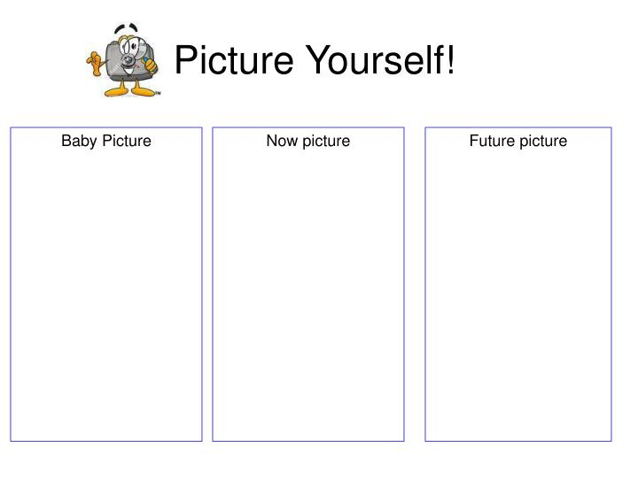 Picture Yourself!