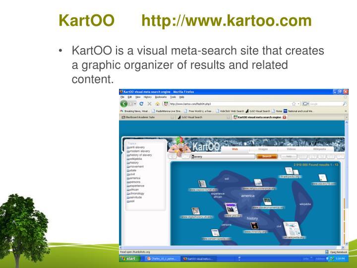 KartOO      http://www.kartoo.com