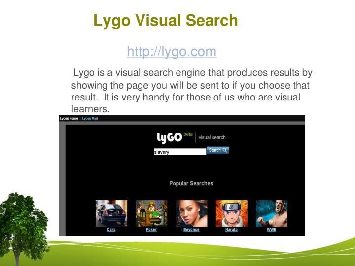 Lygo Visual Search