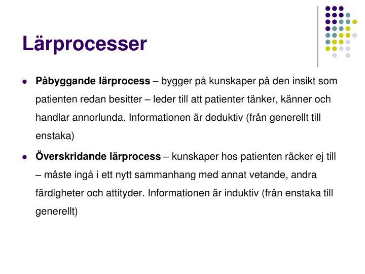 Lärprocesser