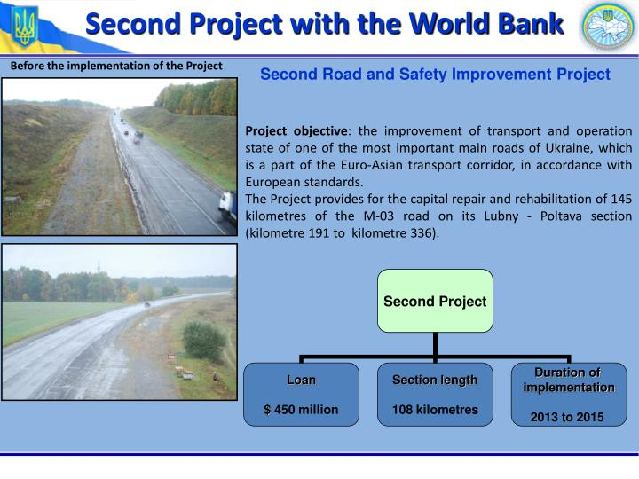 Second Project with the World Bank