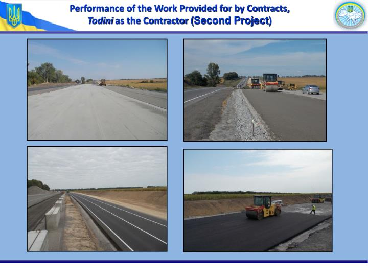 Performance of the Work Provided for by Contracts,