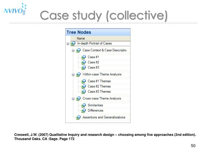 Case study (collective)