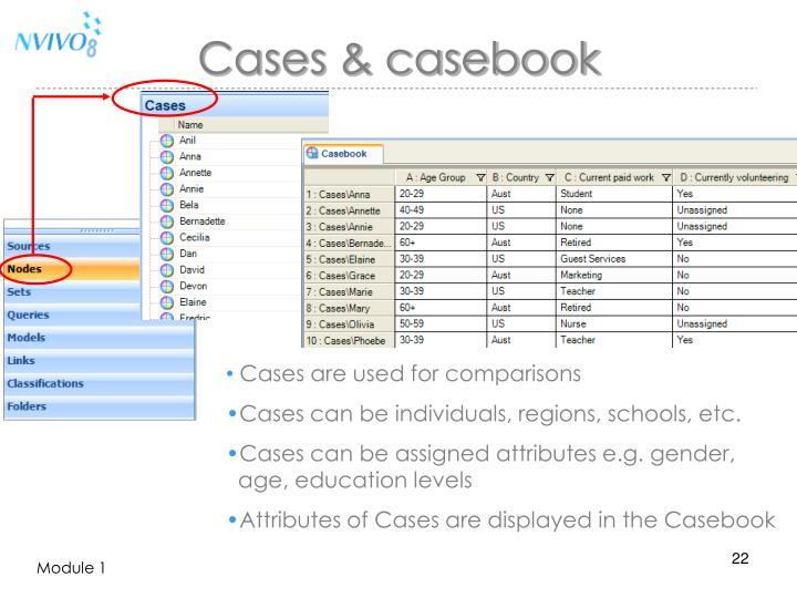 Cases & casebook