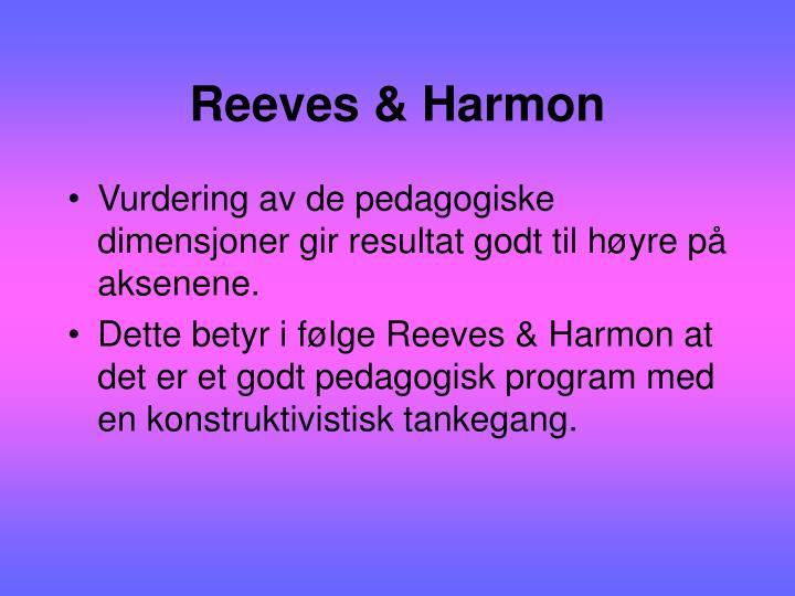 Reeves & Harmon