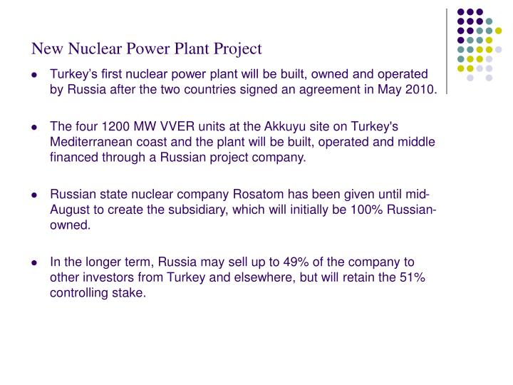 New Nuclear Power Plant Project