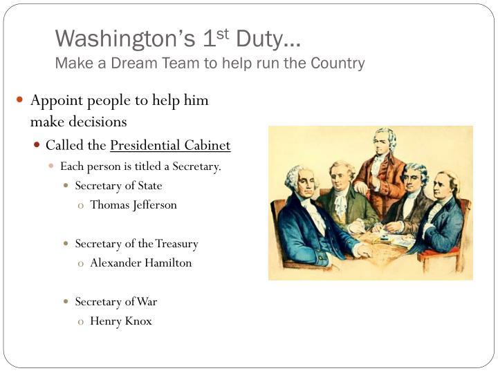 Washington's 1