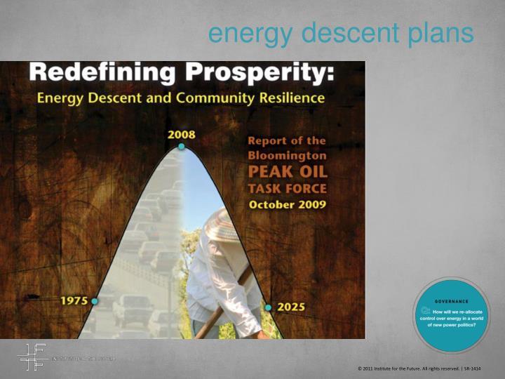 energy descent plans
