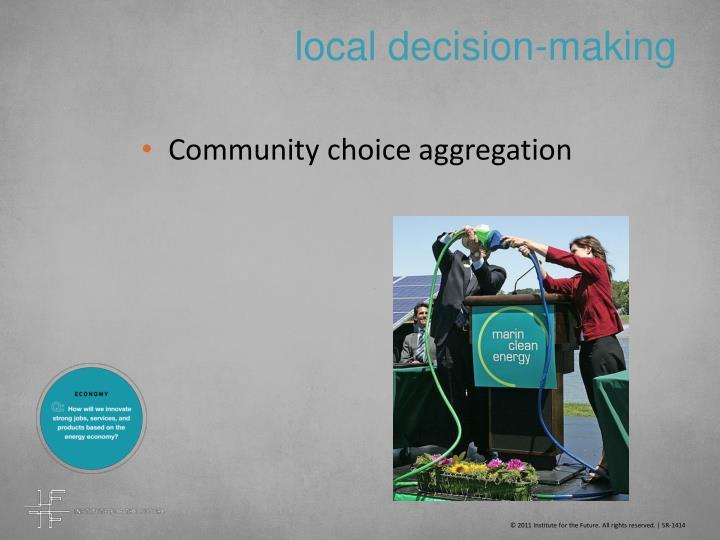 local decision-making