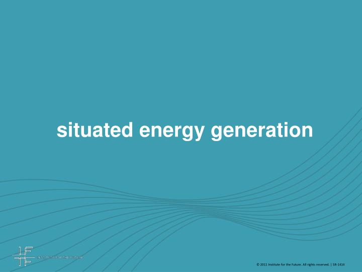 situated energy generation