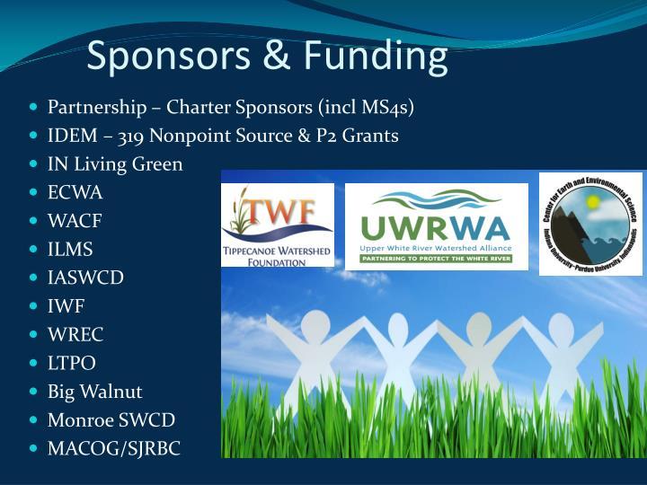 Sponsors & Funding