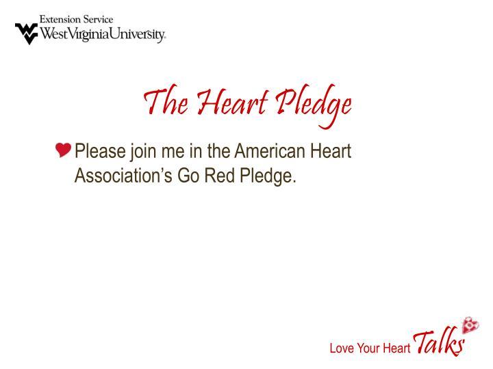 The Heart Pledge