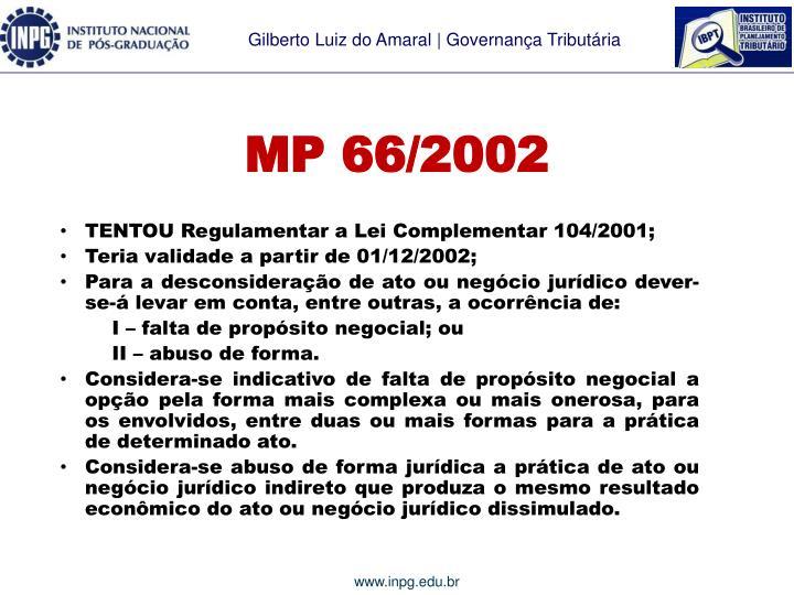 MP 66/2002