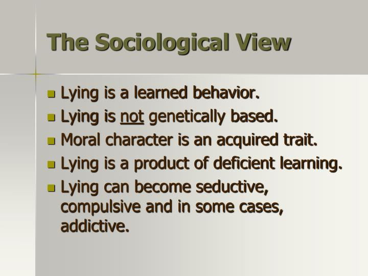 The Sociological View