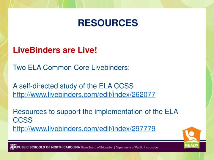 LiveBinders are Live!