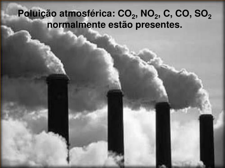 Poluição atmosférica: CO