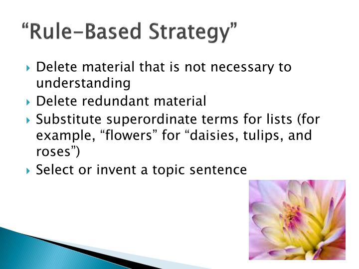 """Rule-Based Strategy"""