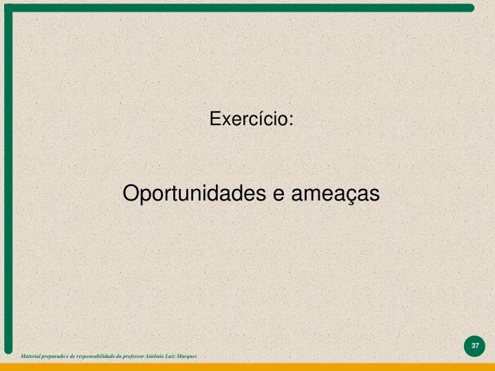 Exercício: