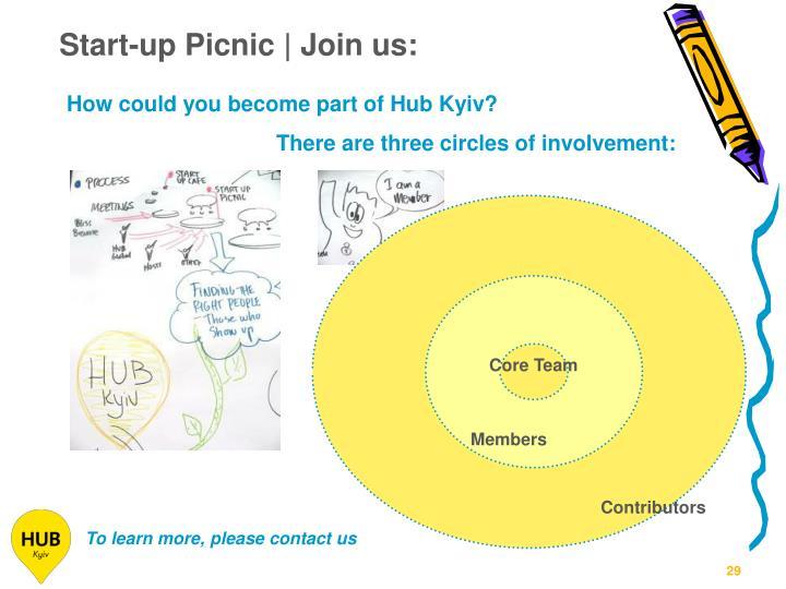 Start-up Picnic | Join us: