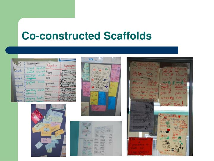 Co-constructed Scaffolds