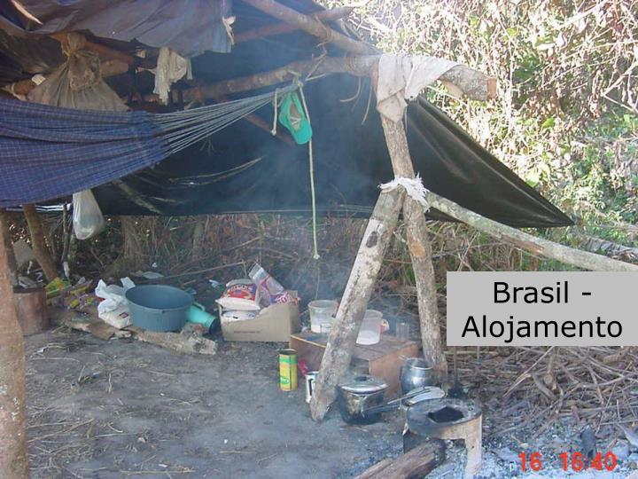Brasil - Alojamento