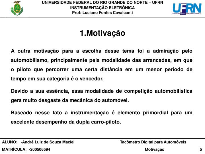 UNIVERSIDADE FEDERAL DO RIO GRANDE DO NORTE – UFRN
