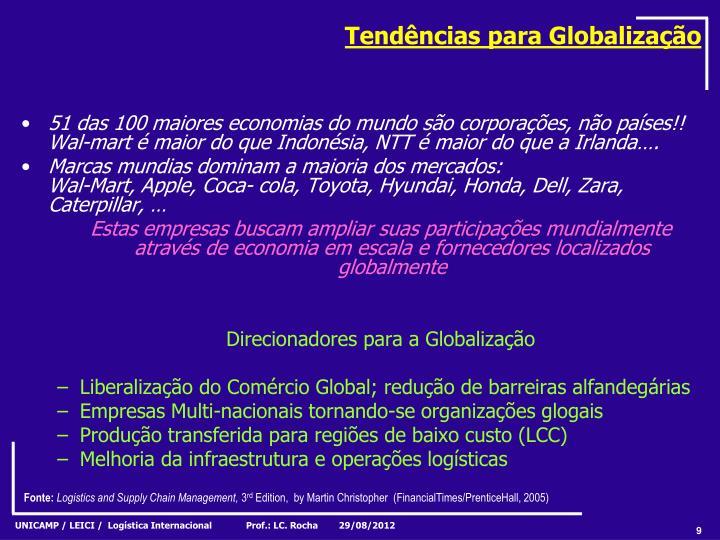 Tendências para Globalização
