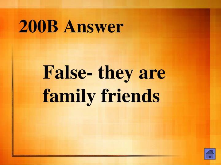 200B Answer