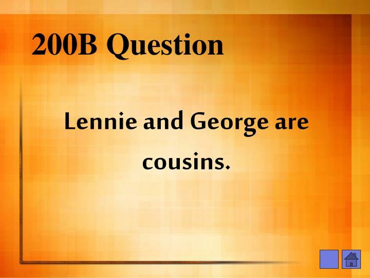 200B Question
