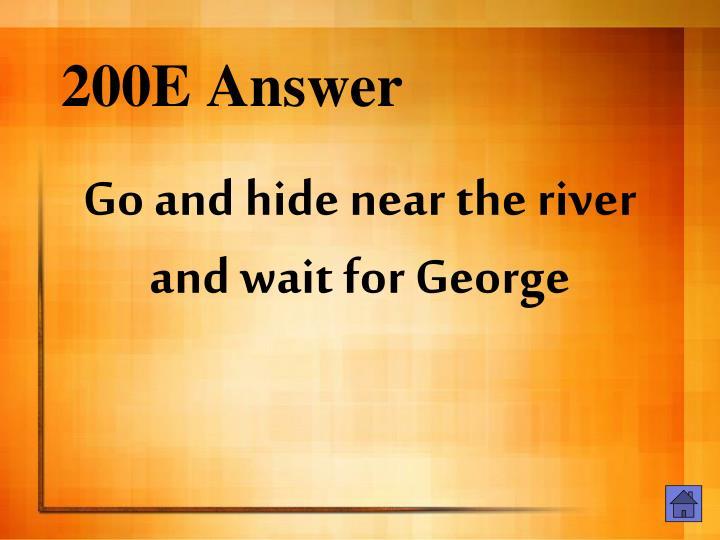 200E Answer