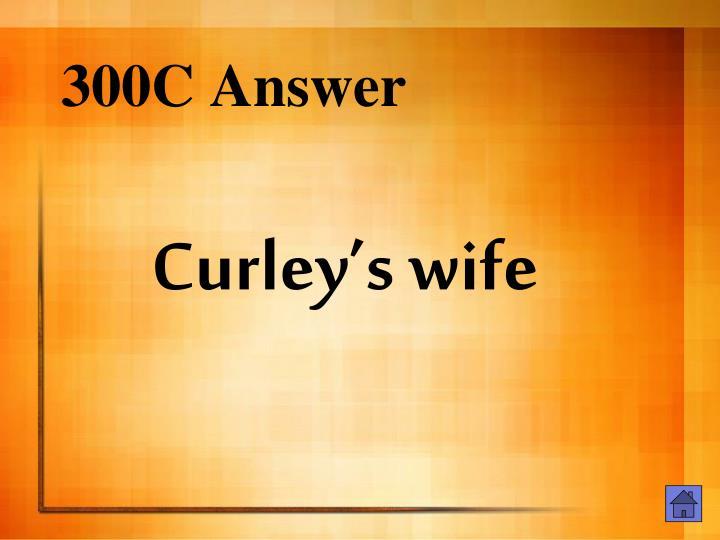 300C Answer