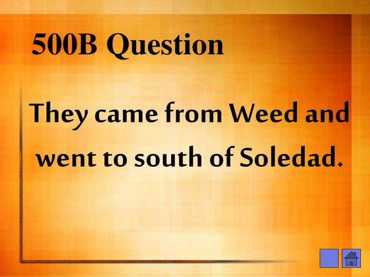 500B Question