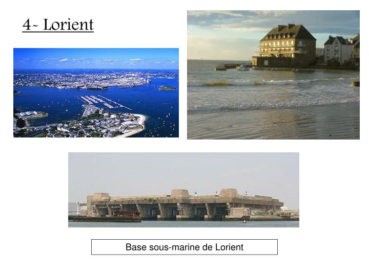 4- Lorient