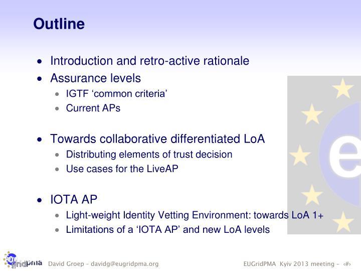 Towards differentiated collaborative LoA